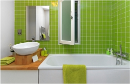 rejuvenated bathroom tiles